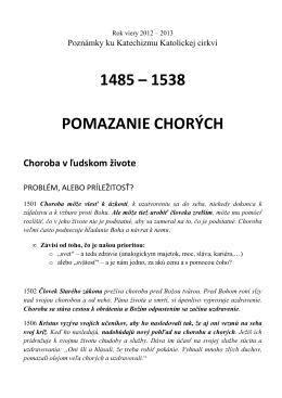 Body 1485 až 1538