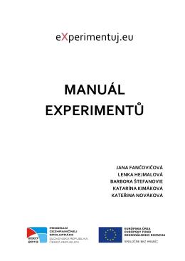 Kimáková - eXperimentuj