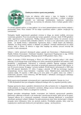 Pobierz więcej informacji w formacie PDF - SOS dla świata