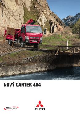 Nový CaNter 4x4