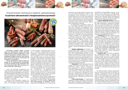 kryterium zdrowotności i bezpieczeństwa żywności