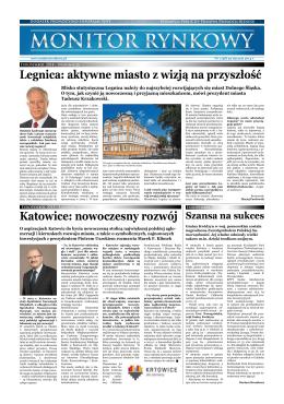 Legnica: aktywne miasto z wizją na przyszłość