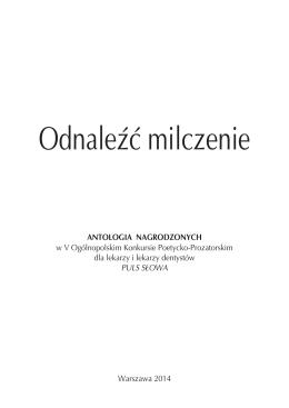 antologia nagrodzonych