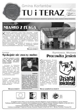 TU i TERAZ - Korfantów, Urząd Miasta