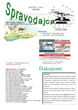 jún 2012 - ZŠ s MŠ Oravský Podzámok 51