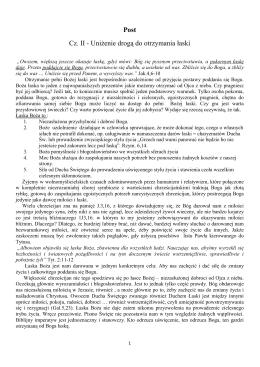 Post-cz.II-Uniżenie-droga-do-łaski - Krotoszyn