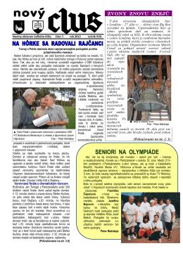 Obecné noviny č.7 - 2012