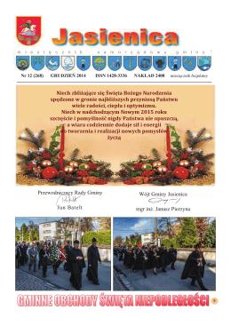 Grudzień 2014 - Jasienica, Urząd Gminy