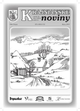 Krajnianske noviny číslo 1 (PDF – 13,0 MB)