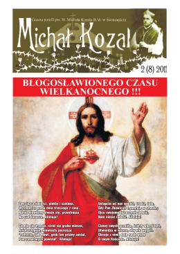 Nr 2(8) - Parafia pw. Bł. Michała Kozala w Świnoujściu