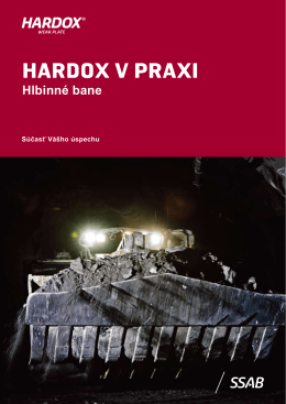 HARDOX V PRAXI