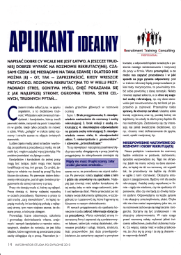 Aplikant idealny - RTC Professional