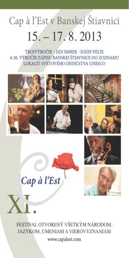 Stiahnuť Program 2013 (pdf)