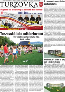 č.13 - Mesto Turzovka
