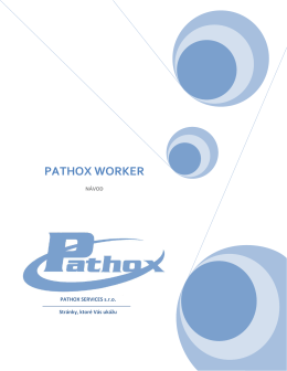 PATHOX WORKER - Pathox Services sro