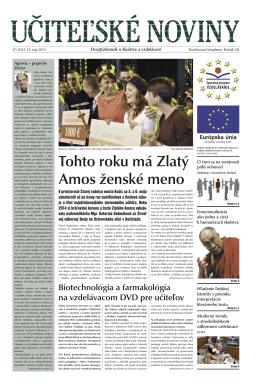 Ucitelske noviny_47_2014.indd - Domov