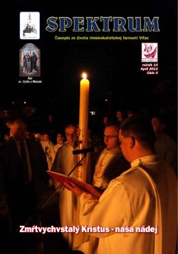 Zmŕtvychvstalý Kristus - naša nádej