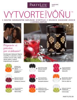 Vytvorte si svoju vôňu Zima/Jar 2015