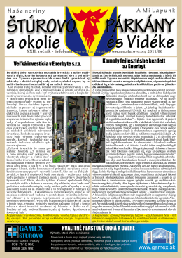 2011/06 - Mesto Štúrovo