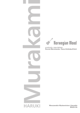 Haruki Murakami Norwegian Wood 3