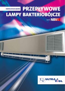 dwufunkcyjne przepływowe lampy bakteriobójcze