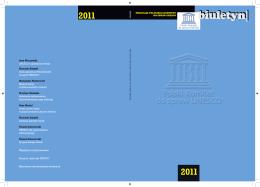 2011 - Polski Komitet ds Unesco