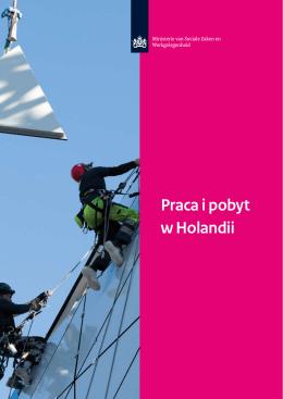 Praca i pobyt w Holandii