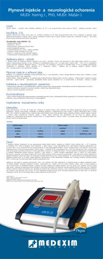 Úvod: Insuflácia CO2 Aplikácia plynu - účinok Plynové