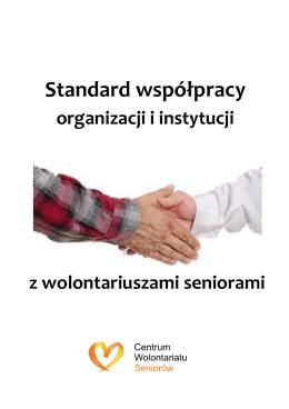Standard współpracy - Regionalne Centrum Wolontariatu w