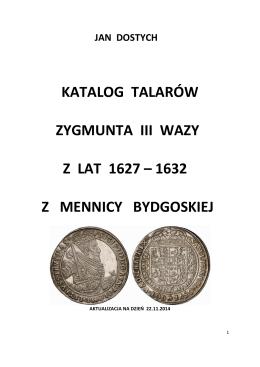 Zygmunt III Waza cz.3 Talary 1627-1632