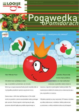 Pomidory – warzywa czy owoce?