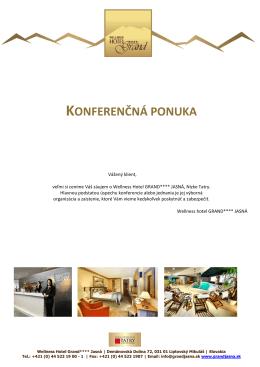 Conference offer brochure