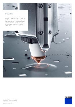 Wykrawanie i cięcie laserowe w perfek cyjnym