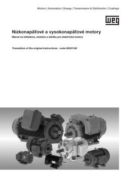 Nízkonapäťové a vysokonapäťové motory