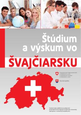 Štúdium a výskum vo Švajčiarsku