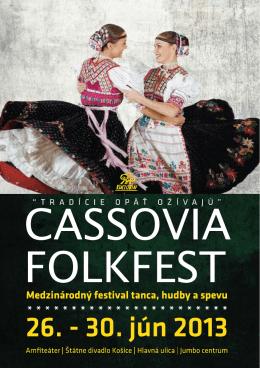 bulletin - Cassovia Folkfest