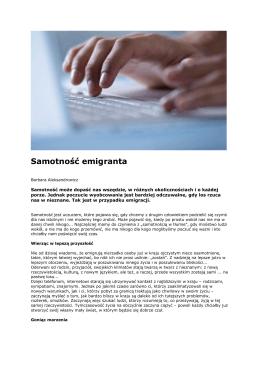 SAMOTNOSC w SIECI.pdf - e-businesscardexchange.com