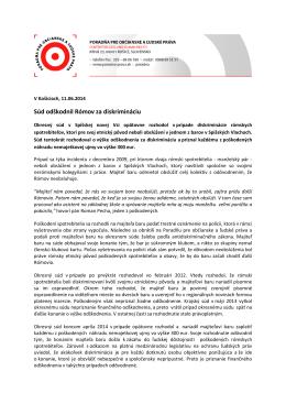 PDF, 321 KB - Poradňa pre občianske a ľudské práva