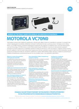 Motorola VC70N0