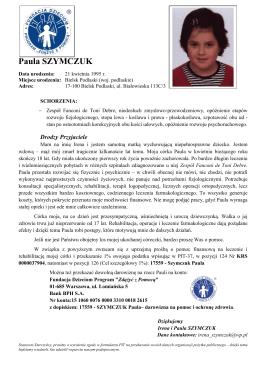 Paula SZYMCZUK