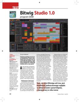 Bitwig Studio 1.0