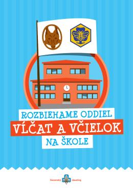 VĹČAT A VČIELOK - Slovenský skauting