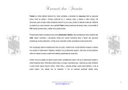 pdf - Kartová hra Faraón