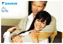 Daikin katalóg bytových a domových klimatizácií 2010