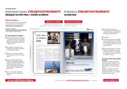 E-objednávka prezentácie v elektronickom časopise