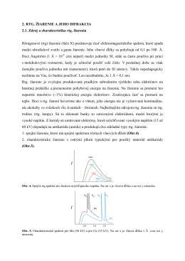 Röntgenová difrakčná analýza