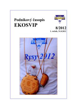 časopis 8/2012 - EKO SVIP, sro
