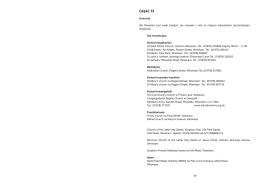 Broszura informacyjna: Część 13 - Kościoły
