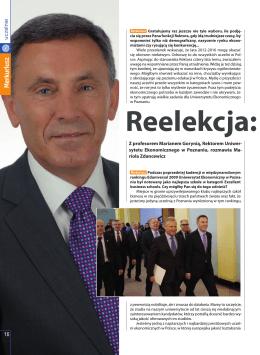 """Reelekcja: ciągłość zadań, """"Merkuriusz Poznański"""
