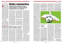 """""""Wielka metamorfoza"""", PRZEGLĄD, 18 kwietnia 2010, s. 50-51"""